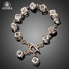 AZORA Brand Design Gold <b>Color</b> Stellux <b>Austrian Crystal</b> 12pcs ...