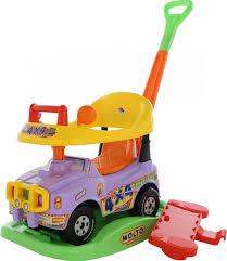 <b>Полесье</b> Автомобиль-<b>каталка Джип Викинг</b> №2 цвет сиреневый
