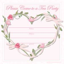 a complete guide to tea party invitations template