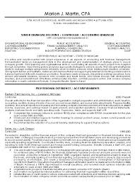 resume example controller financial1gif cpa resume example examples of accounting resumes