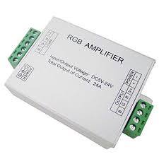 led amplifier controller dc5 24v signal repeater accessory for rgb rgbw cct rgbww rgbcw 5050 3528 strip light 4 6pin jq