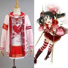 LoveLive! Love Live Valentine's Day Yazawa Nico Uniform ...