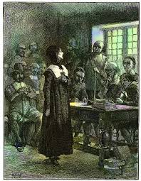 harvard magazineedwin austin abbey    s depiction of anne hutchinson on trial appeared in a popular nineteenth century history of the united states