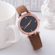 Мода Diamond пару <b>наручные часы Gold</b> Case Кожаный ...