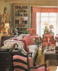 Living Room Country Decor Decorating Living Room French Country Decor With Red Window