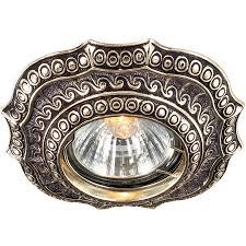Встраиваемый <b>светильник Novotech</b> 369857 Vintage 369857 ...