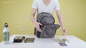 Обзор городского <b>рюкзака Samsonite Guardit</b> 2.0 M - YouTube