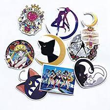 DADATU <b>Stickers 9pcs</b>/<b>Set</b> Kawaii Japan <b>Anime Sailor</b> Moon ...