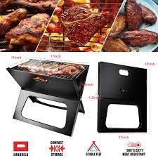 <b>Portable Charcoal Grill</b>, Moclever Space-saving & <b>Foldable BBQ</b> ...