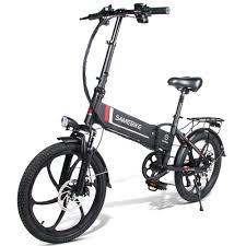 Samebike 20LVXD30 Smart Folding <b>Electric Moped</b> Bike E-bike 3-5 ...