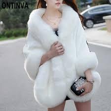 <b>Pink Furry</b> Fur Coat for Women <b>White Fluffy</b> Warm Lady Long Sleeve ...