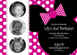 minnie mouse st birthday invitations template com minnie mouse st birthday invitations template