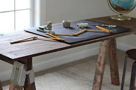 how to build a sawhorse desk for both rustic and modern offices build rustic office desk