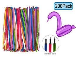 <b>200 PCS Latex Twisting</b> Balloons--260Q Magic Balloons Assorted ...