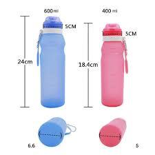 600 мл <b>силиконовая</b> складная <b>бутылка для воды</b>, товары для ...