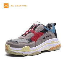 China <b>2019 Hot Sale Fashion</b> Sneakers Shoes Men Clunky ...