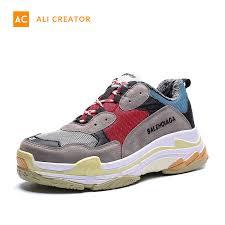China <b>2019 Hot Sale</b> Fashion Sneakers Shoes <b>Men</b> Clunky ...