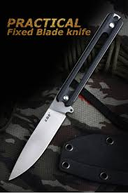 <b>Sanrenmu S731</b> фиксированный <b>нож</b> 8cr13mov лезвие G10 Ручка ...