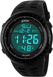 <b>Digital Sports Watch</b> Water Resistant Outdoor Easy Read Military ...