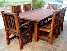 patio table and 6 chairs: wood folding patio table and chairs with  person patio chairs and wooden rectangular patio table