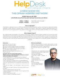 ask deepak chopra your questions on help desk filming in la on feb helpdesk deepak orientation v01 help desk deepak chopra