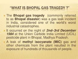 Image result for bhopal disaster