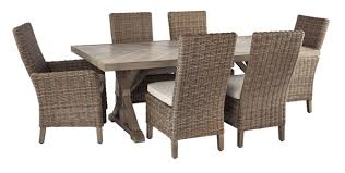 Beachcroft <b>7</b>-<b>Piece Outdoor Dining</b> Set