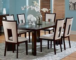 room simple dining sets: full size of dining room contemporary chocolate wood lancaster wood chairs wooden flooring simple blue