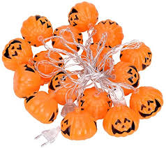 WH-NGD <b>Halloween</b> pumpkin string lights <b>Decorative</b> pumpkin light ...