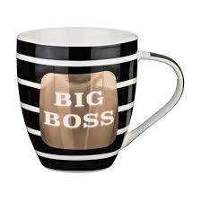 <b>Кружка Lefard Big boss</b> 500 мл фарфор - купить оптом и в ...