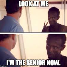 End of the school year, juniors be like- - Imgflip via Relatably.com