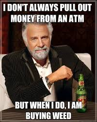 When we use an ATM... | Memes | Pinterest | Finals, Colleges and ... via Relatably.com