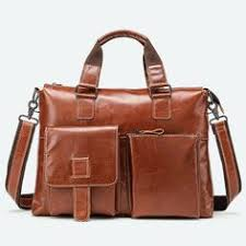 (Sponsored)eBay - CARANFIER Men Briefcase <b>Genuine</b> Leather ...