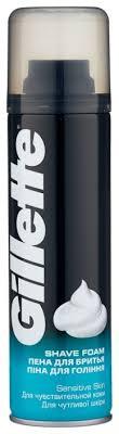 Пена для <b>бритья</b> для чувствительной кожи Gillette купить по цене ...