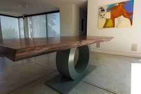 Dining Room Tables Portland Or Natural Live Edge Dining Tables By Hammer Hand Custom Table Built