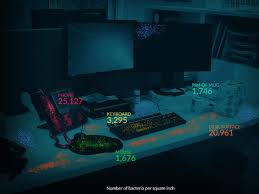 Average desk contains 400 times more germs than a toilet seat, <b>new</b> ...
