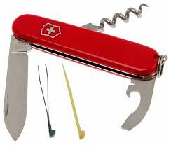 Купить <b>Нож перочинный Victorinox Waiter</b> (0.3303.B1) 84мм 9 ...