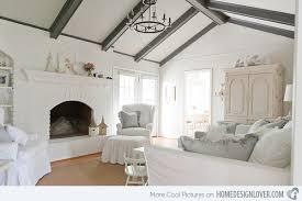 gray design chic white home