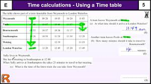 time calculations and timetables gcse maths foundation revision time calculations and timetables gcse maths foundation revision exam paper practice help