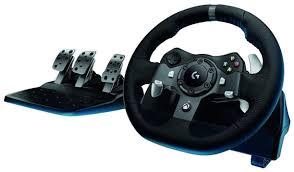 Игровой <b>руль Logitech G920 Driving</b> Force (941-000123), купить в ...