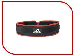 <b>Adidas Пояс тяжелоатлетический Nylon</b> Lumbar Belt L ADGB ...