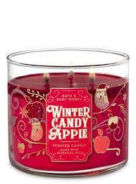 <b>Ароматическая Свеча</b> Bath & Body Works - <b>Winter</b> Candy Apple ...