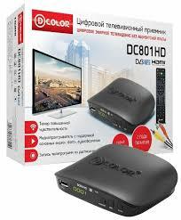 TV-<b>тюнер D</b>-<b>COLOR</b> DC801HD <b>DVB</b>-<b>T2</b> — купить по выгодной ...