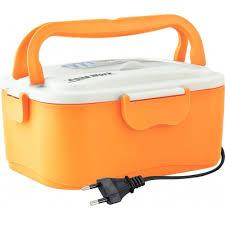 <b>Ланчбокс</b> с подогревом <b>Aqua Work C5</b> 220В оранжевый ...