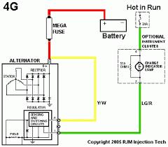 alternator wiring diagram ford alternator 1991 ford f150 alternator wiring diagram wiring diagram blog on alternator wiring diagram ford 302