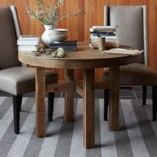 imported dining table  emmerson reclaimed wood round dining table m