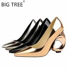 <b>BIGTREE 2019 New</b> Fashion Openwork High Heels Luxury Design ...