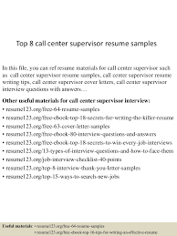 topcallcentersupervisorresumesamples conversion gate thumbnail jpg cb