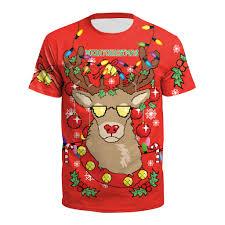 <b>Christmas</b> T Shirt Short Sleeve <b>korean</b> tshirt <b>Plus Size</b> Loose Slim ...