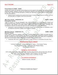 preschool teacher resume tips and samplesgo to becoming a teacher main page